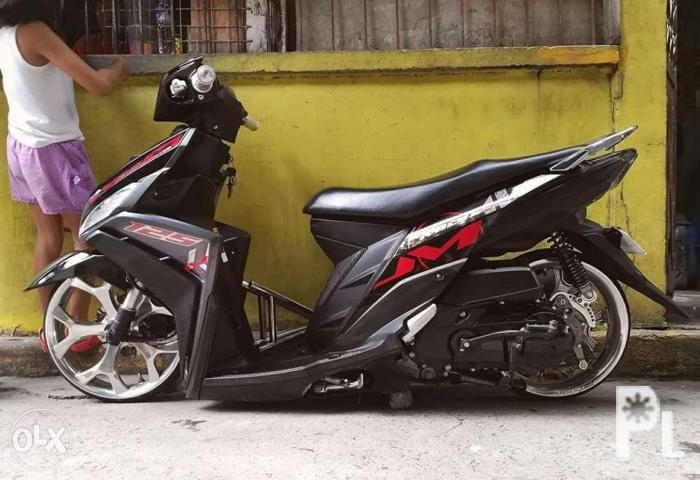 Yamaha Mio I 125 Stance set up