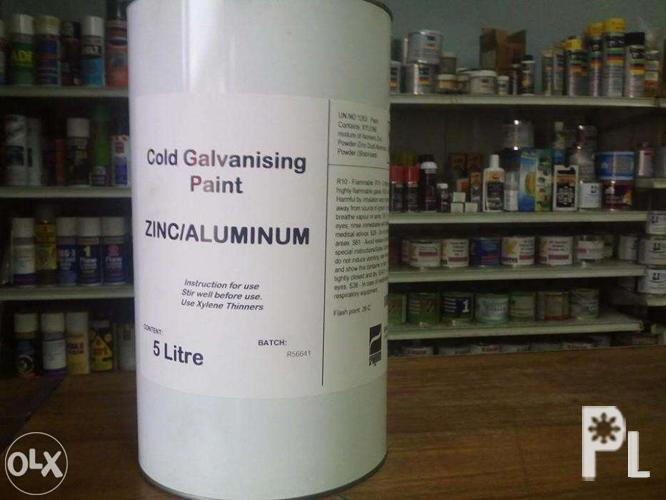 Zinc cold galvanizing paint (silver) for Sale in Manila