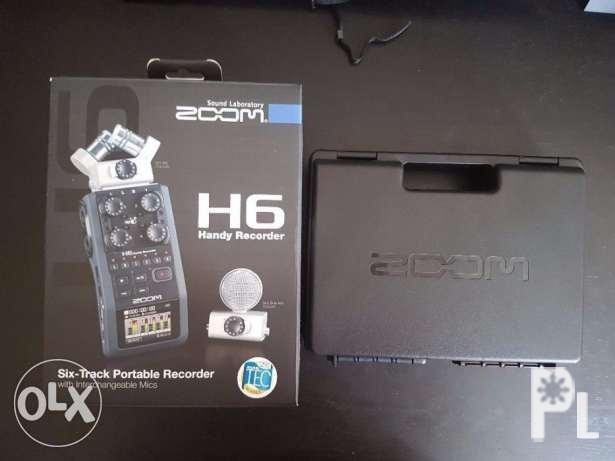 Zoom H6 SixTrack Portable Handy Recorder H4N Pro h5 H1 for Sale in