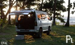 Selling my 1990 Mitsubishi Delica 2.5 Super Exceed!(INSTALLMENT BASIS) � *50% downpayment 10k/month until fully paid � -Good running condition -Diesel -Automatic Transmission -Crystallite bubble top -Comfortable seats -Can be converted into a camper