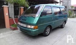 1995 Nissan Vanette SXG Diesel M BusLD20 Diesel Engine (Like Nissan Urvan Engine/Already Indicated on Papers), Manual Transmission, Long Drive Tested, All Original, 12 to 14 Seater All power, Quiet Engine, Very Low Maintenance, Very Fuel Efficient,