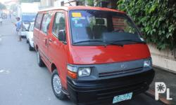 "1997 Toyota Hiace Commuter Van ""FRESH!""15 seater capacity 92thou mileage private used owned by a priest Manual local 2.5 power ful diesel engine yet economical 1:14 liter/km fuel ratio newly washover anzhal paint mirror shineno dents no scratchno history"