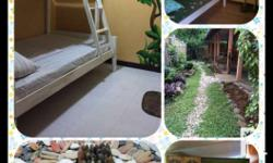Room with aircon, toilet and bath, wifi, kitchen facilities and terrace..can accommodate up to 3 pax. Php 4000 for 1 year contract, Php 5000 for less than 1 year Location is very accessible, just along the south national highway in front of dpwh, close to