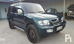Repriced! Rush Sale! 2000 model Mitsubishi Pajero CK Body First pajero CK in the country. CK body already although 2000 model. 2.5m just for the tax payment. Fully tax paid. Orig LHD - Not Converted. 4x4, Automatic. 3.0 V6 Gasoline. More efficient than