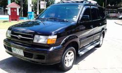 Toyota Revo, SR, Top of the Line Original 1.8 EFI Engine, Excellent Condition Original Intact Interior Very Nice Paint (Tin Can Body) MAKINIS LOOB AT LABAS All Power (Steering, Windows, Lock) Very Cool Dual Aircon Brandnew roof rack Brandnew roof rail