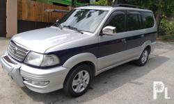 2003 Toyota revo vx200 Manual transmission efi engine gas all power 103+++low mileage only napaka tipid sa gas Very Cool Aircon nka mags na po Bago lhat ng gulong 3 orig keys with alarm New TV monitor bluetooth dvd New Leatherseat cover New registered New