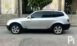 2004 BMW X3 Executive Edition ,  New Interior Look, Cruise Control,  Panoramic Sunroof, Leather Interior,  Side Mirror Tilting Assist, Power Seats,  Memory Seats, Wrap Around Sonar.  No Leaks No Kalampag No History of Accidents  No Body Repairs Never