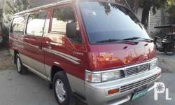 2004 Nissan Urvan orig paint Dual aircon Diesel van Original paint with body sticker 15 seater van Good for family use Registered up to date Complete papers