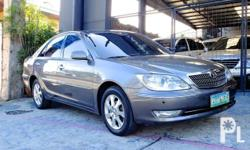 Toyota Camry 2005 Year 0.0L Engine Gas Fuel Automatic transmission Front Wheel Drive