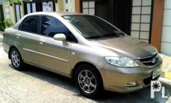 Honda City 2006 Year 80,000 km mileage 1.3L Engine Gas Fuel Automatic transmission Front Wheel Drive For sale!!! 50K All power Automatic transmission 1.3L Gas engine Fuel efficient Smooth shifting Quiet engine Leather seats Clean interior Smooth paint