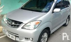 Toyota Avanza G 2007 Year 90,000 km mileage 1.5L Engine Gas Fuel Automatic transmission Air Conditioning Power Steering Remote Keyless Entry Leather Interior Air Bags Alarm AM/FM Radio CD Player For Sale Toyota Avanza 1.5G a/t, 2007 model, Complete and