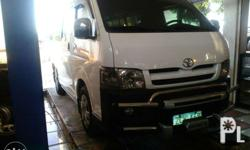 07 model commuter hiace.fresh in and out.with dvd.complete crome accessories.low mileage.rush sale..up grade to grandia..