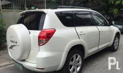 Toyota RAV4 2007 Year 71,000 km mileage 2.0L Engine Gas Fuel Automatic transmission Air Conditioning Power Steering Remote Keyless Entry Sunroof Leather Interior Air Bags Alarm Anti-Lock Brakes (ABS) AM/FM Radio CD Player 2007 Toyota Rav4 4x2 automatic;