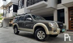 2008 Ford everest 4x4 diesel automatic transmission 78tkms leather wood panel 1st owned very fresh