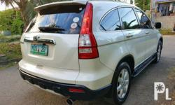 Honda CR-V Limited 2008 Year 72,000 km mileage 2.0L Engine Gas Fuel Automatic transmission Air Conditioning Cruise Control Central Locking Power Steering Remote Keyless Entry Electric Windows Air Bags Alarm Anti-Lock Brakes (ABS) AM/FM Radio CD Player