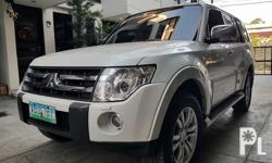 2008 Mitsubishi Pajero 4x4  4x4 2017 oem pajero mags All original paint No dents and scratch Very fresh Like new