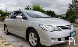 Honda civic 2009 Year 110,212 km mileage 1.8L Engine Gas Fuel Automatic transmission Front Wheel Drive 2009 Honda Civic 1.8 Automatic 110tkms Casa maintained all the way with records and receipts 1st owned Like new in and out 100% All original Delta car