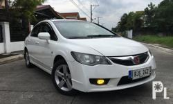 2009 Honda Civic FD 1.8S Top of the line variant. Automatic Transmission with Sports Mode (Paddle Shifters). MMC - Octagon Tail lights. Well Maintained. 2 Original Keys. No Issues !!!