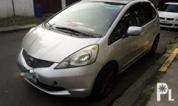 2009 Honda Jazz All power Manual transmission 2010 series 65tkm mileage Alarm/keyless entry 15inch mags Thick tires Fresh in and out Nothing to fix Super tipid sa gas
