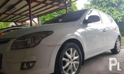 2009 hyundai i30 limited Local purchased White Automatic Excellent condition Good engine condition 1.6L good engine consumption 8 to 9 city driving Newly change oil No kalampag Good interior condition All buttons are working Interior are cleaned  Good