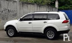MITSUBISHI MONTERO GLS SE 2009 year model Special edition Automatic transmission First owner 68t mileage Leather seats Wood panelling Diesel 4x4 Keyless entry Central locking Power steering Power mirror Power window Stereo All original With 3rd row seat