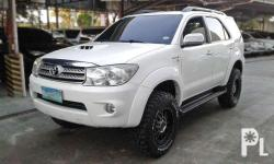 """Description Automatic Transmission 3.0 V 4x4 79t Kms Cebu Unit Top Of The Line With Lift Suspension Adjustable For Comfort 17"""" Rhino Rims With Cooper Discoverer Mud Tires Good As New Ready For Trailing Genuine Factory Leather Seats Very Well Maintained"""