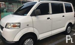 2010 Suzuki APV Manual transmission Gasoline Complete orig legal papers All stock cold aircon Not flooded