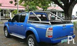 2011 Ford Ranger  - Color: Blue - Automatic transmission  - 3.0 Diesel Engine - TYPE:pickup - 2017 Registered - MILEAGE: 72tkms - All-power (windows/steering/mirrors) - foglamps - Ice cold aircon - Dual airbag - stock stock mags with thick tires