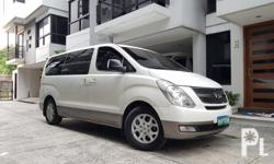 2011 Hyundai Grand starex vgt for more quality cars follow fb page robcars crdi dieselmanual transmissionleather seats62tkms12 seaterall stockall original Capacity/cc:Diesel Transmission:Manual Condition:Used Advertiser:Owner check markAir BagsAir