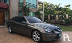 2011 Mercedes Benz C200 1.8L Engine Automatic Transmission with Paddle Shifters 60000+ kms orig mileage only Casa Maintained Local Unit Indium Grey Exterior Beige Interior Rare Color Combination Brand New Smell Pristine Condition Complete tools Complete