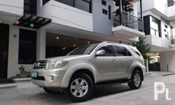Make:Toyota Model:fortuner Year:2011 Price:138,000 Firm Mileage:60000 km Capacity/cc:Petrol Transmission:Automatic Owners:1 Condition:Used