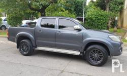 2011 Toyota Hilux 4x4 G Automatic Brand:Toyota  Model:Hilux  Year:2011  Condition:Used  Transmission:Automatic  Mileage:70,000  Color:Grey