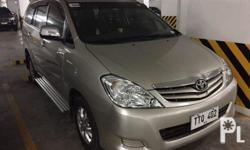 2011 Toyota Innova E Diesel MT A1 Condition & Nothing to fixBought BnewAll-power Alarm and central lockingCool Air conditionNew set of Yokohama tires (2016)Step-boardOriginal Toyota Innova magsGuaranteed not floodedUpdated registration Clean and complete