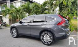 Honda CR-V 2012 Year 55,000 km mileage 2.5L Engine Gas Fuel Automatic transmission Air Conditioning Cruise Control Power Steering Remote Keyless Entry Leather Interior Air Bags Alarm Anti-Lock Brakes (ABS) AM/FM Radio CD Player Honda CRV 2012 Automatic