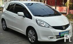 2012 Honda Jazz Autimatic  Lmtd edition  Autimatic  1.5 ivtec engine  A/T Paddle shift All power  Cruise control Custom leather seats Color :White