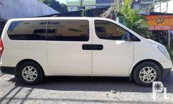 2012 Hyundai Starex TCI Manual transmission First owned Mileage: 73,000 kms 4new tires 12 seater Easy to maintain