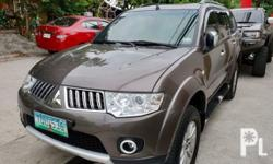 Mitsubishi Montero GLS-V 2012 Year 49,000 km mileage 2.5L Engine Diesel Fuel Automatic transmission Air Conditioning Cruise Control Power Steering Remote Keyless Entry Leather Interior Air Bags Alarm Anti-Lock Brakes (ABS) Traction Control AM/FM Radio CD