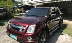2012 model Isuzu DMAX LS manual turbo diesel 3.0 1st owned all original paint Low mileage please refer at the photos Complete legal documents or/cr ready for transfer