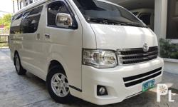 2012 Toyota Hiace Super Grandia  2012 acquired automatic transmission vkool tint celebrity owned leather seats diesel 1st owned complete manual and spare key comprehensive insurance 100% original paint no retouch flawless tv good as new very fresh