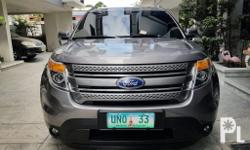 2013 Ford Explorer 4x4 Panoramic roof Leather seats Automatic transmission Plate 33 4x4 Gas All orig paint Very fresh Like new
