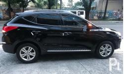 This is the top automatics variant of Hyundai Tucson 2013 GSL Theta II. In mint condition. Almost new. No scratch , no dents. Never flooded and no accidents. Driven only 35000K so far. With leather seats and touch screen with parking assist rear camera.