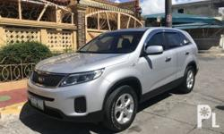 Kia Sorento 2013 Year 41,000 km mileage 0.0L Engine Diesel Fuel Automatic transmission 4x2 MILEAGE:41,+++KM ENDING PLATE: 3 -Fresh in and out (Showroom Condition) - Good running condition - Well maintained - Mag wheels - Intact interior - Fuel efficient