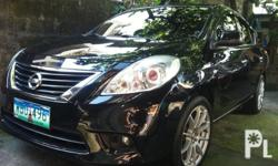 """2013 Nissan Sentra Almera,1.5 Efi Engine,Very Fuel Efficient,Manual Transmission,All Power,Leather Seats,3M Tint,Angel Eyes Parklight,HID Headlights,HID Foglights,17"""" Advanti Mags w/ New Tires,Strong Cold Aircon,37T Kms. Original Km Reading,Exellent"""