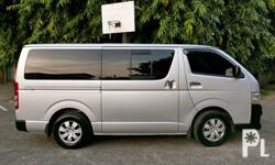 2013 Toyota Hiace Commuter Diesel Thick tires Fresh in/out very goodDiesel Thick tires Fresh in/out very good