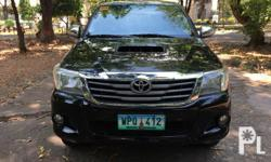 Hilux 4x4 2013 Automatic diesel,  Air Conditioning,  Power Steering,  Remote Keyless Entry,  Leather Interior, Registered,  Complete and legals papers,  Not Flooded,  Nothing to fix.