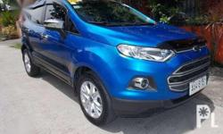 2014 Ford Ecosport Trend Rush Brand:Ford  Model:Ecosport  Year of manufacture:2014  Condition:Used  Transmission:Automatic