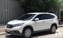 2014 Honda Crv For Sale  Very Fresh In and Out 32600 Mileage Casa Maintained Ceramic Coated Newly Changed oil and other fluids Maintained at Honda Spa mindanao avenue Comprehensive insurance until February Registered til 2019