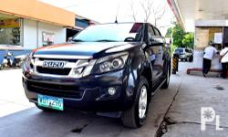 2014 Isuzu Dmax 4x4 A/T Super Fresh 200t Nego Top of the line 1st owned All stock, All orig No Scratches, No Dents Shiny smooth paints. Like New 4x4 Automatic Trans, Leather seats, All Power Well maintained,Nothing to fix See to Appreciate FREEBIES: Free