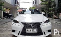 2014 Lexus IS350 Fsport for more quality cars  onlyleathersunroofpush startcasa maintained with recordsflawless original paintgood as brandnew 2.080m slightly neg  Capacity/cc:Petrol Transmission:Automatic Condition:Used Advertiser:Owner check markAir