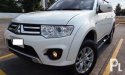 Mitsubishi Montero VA/TLIMITED EDITION+/- SportronicDual AirbagDual Aircon 1st OwnedNewly Serviced (PMS)2.5L DID DIESEL VVariable Geometric Engine Casa MaintainLow Mileage SUPERLOADED Factory indash 2DIN TV MonitorUSB bluetooth iPod Ready Additional 2 NEW